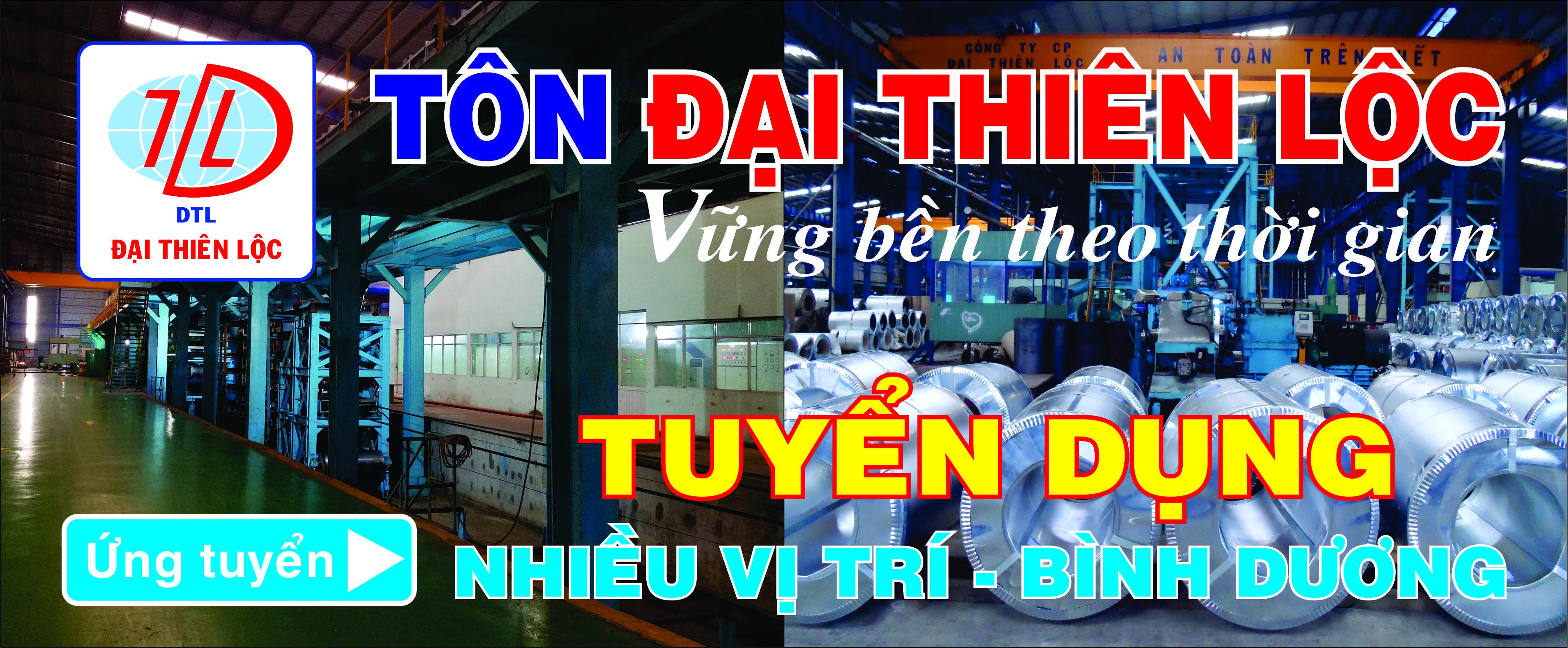 Dai Thien Loc - Banner Tuyen Dung