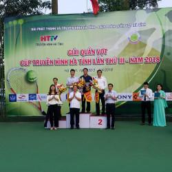 Giải quần vợt cúp Truyền hình Hà Tĩnh lần III năm 2018