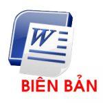 Biên bản họp HĐQT về việc bầu chủ tịch phó chủ tịch HĐQT