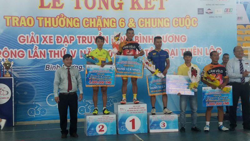 Chặng đua kết thúc mùa giải 2018 giải xe đạp Cup Tôn Đại Thiên Lộc
