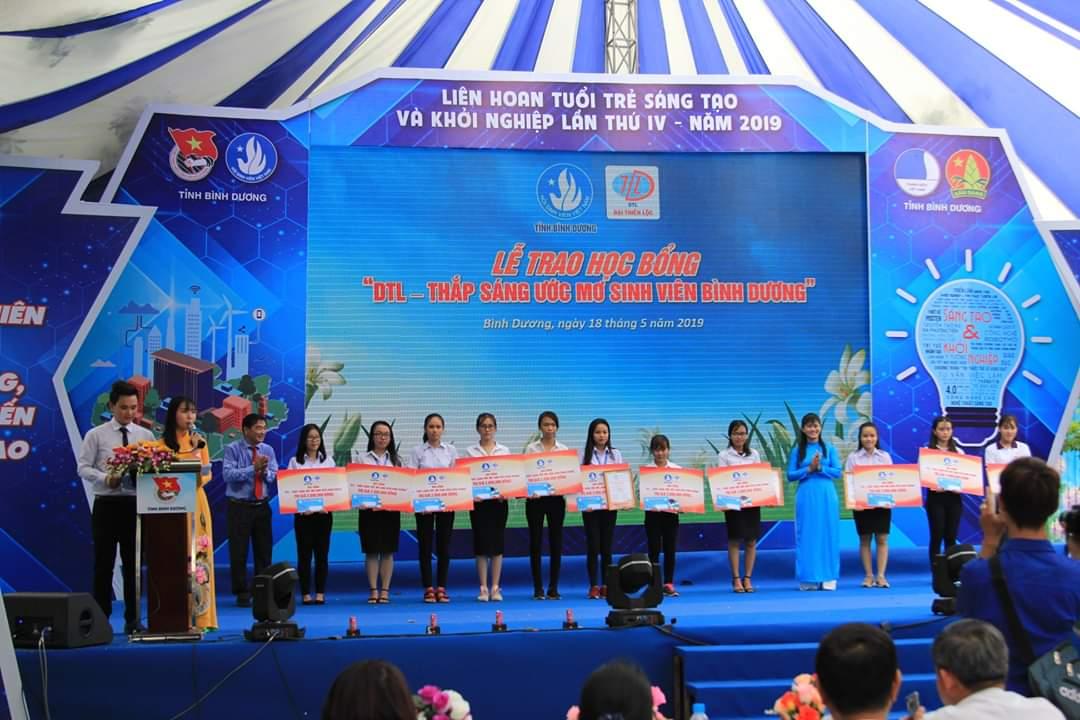 Liên hoan Tuổi trẻ sáng tạo, khởi nghiệp năm 2019